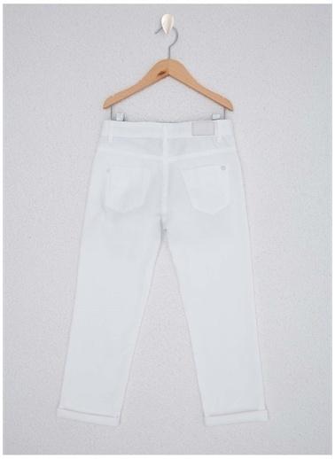 U.S. Polo Assn. U.S. Polo Assn. Beyaz Erkek Çocuk Chıno Pantolon Beyaz
